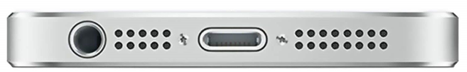 Apple-iPhone-5-Silver-Bottom
